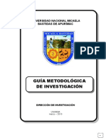 Guia Metodologica de Investigacion