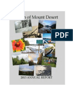 Town of Mount Desert - Annual Report 2013