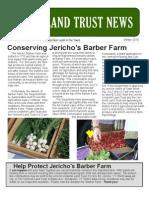 JULT Winter 2010 Newsletter