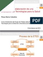 Proceso de Elaboracion ETES