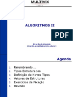 Algoritmo 2 estrutura de dados