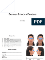 Model Examen Estetica