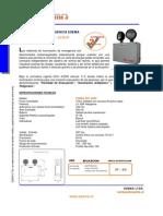 Ficha Tecnica.ilum Emerg ESEMA SRT 350IP