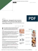 Trigasmo_ Despertá (Al Mismo Tiempo) Tres Puntos Del Placer _ Entremujeres