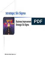 Strategic 6 Sigma