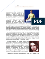 Rudolf Steiner Y Meditación Por Piñán