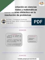 Argumentacion ciencias y mateamticas