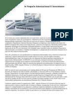 2ª Edicion Feria De Negocio Internacional E Inversiones IMEX Valencia