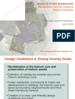 Presentation on Middletown Downtown Zoning Overlay given on Monday July 6 by KSK Architects Planners and Historians Inc.