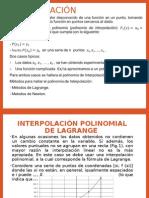 interpolacion(Metodos Numericos)