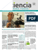 Periódico Académico Ciencia Para Todos 01