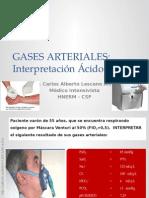 Interpretación Gasometría Arterial-ácido-base 2015