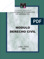 Modulo Derecho Civil