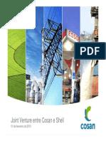 Apresentação - Joint Venture Entre Cosan e Shell