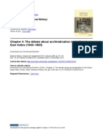 Chapter 4 the Debate About Acclimatization in the Dutch