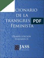 16 Diccionario de La Transgresión Feminista