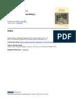 Index Medical History