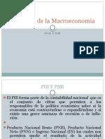 Medición de la Macroeconomia