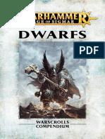 Warhammer Aos Dwarfs Es