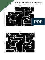 Pcb Fonte Variavel 1,2 a 30 Volts - Cópia