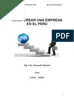 Como Crear Una Empresa en El Peru