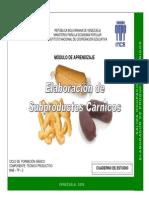 Elaboración de Subproductos Cárnicos