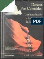 Book Debates Postcoloniales Una Introduccion Los Estudos Sobre La Subalternidad