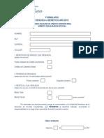 Formulario Por Renuncia Beneficios Arancel Dae