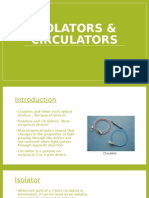 Isolators & Circulators