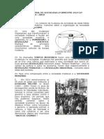 Avaliação Bimestral de Sociologia 2º Bimestre 2014 (2º Chamada) - 1º Ano