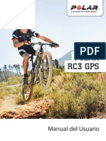 Manual Pulsometro Polar RC3 GPS