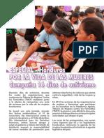 Especial Honduras 16 Días de Activismo de las mujeres