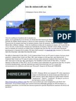 Tutoriel d'installation de  minecraft sur 3ds
