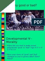 Nelson Moral Criteria Ppt