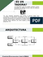 Arquitectura General de La Pc