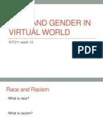 KIT311 Week 12 Race Gender