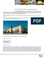 Notice to the Market - Aliansce increases its stake in Super Shopping Osasco