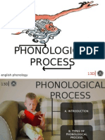 Phonological Process