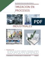 Optimizacion en Procesos Industriales