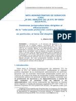 El Contrato Administrativo de Servicios a Partir de La STC Nº 00002-2010-PI.tc