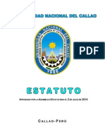 Estatuto de la Universidad Nacional del Callao 2015