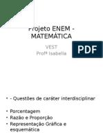 Projeto Enem - Matemática