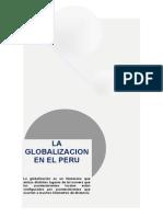 La globalizacion en el Perú