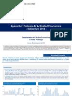 Presentacion Ayacucho 09 2014