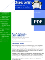 best practice instruction