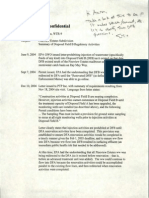 2005 Undated Enforcement Memo Disposal Field A Pine View Estates