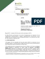 Sentencia T-970/14 (Expediente T-4.067.849) de la Corte Constitucional de Colombia