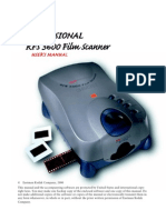 Kodak RFS 3600 User Manual