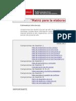 Matriz Elaboración Del PAT- UGEL03
