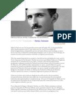 Nikola Tesla Auge y Caída de Un Visionario